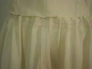 image Détail jupe froncée sur le manequin