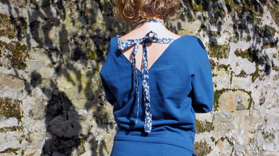 robe décontractée - dos
