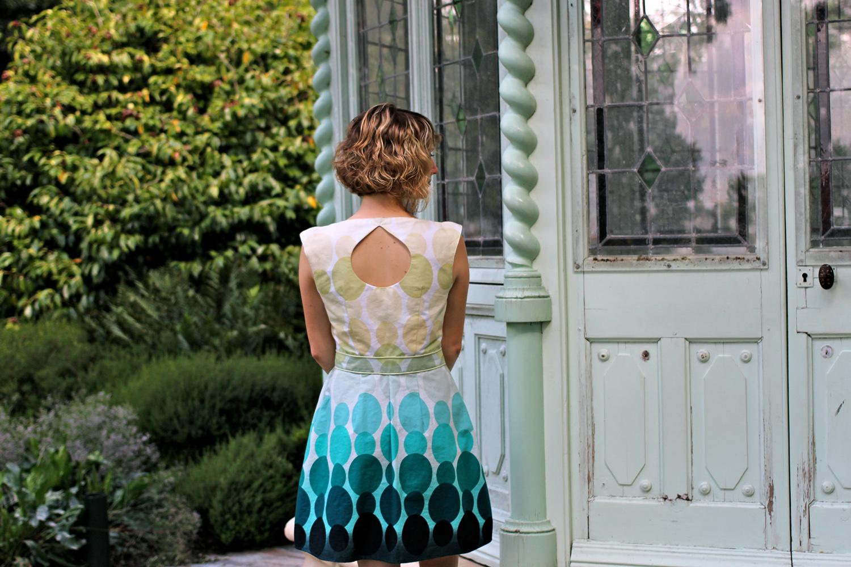 Robe belladone - dos