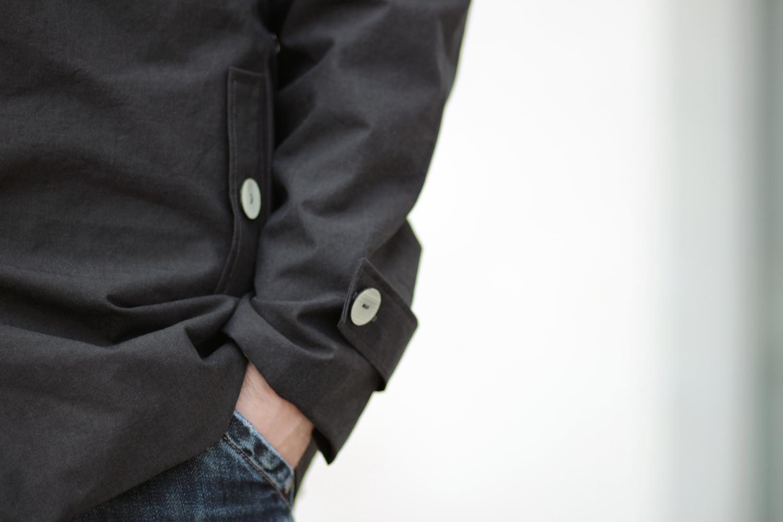 Veste Anthracite de pluie - poche