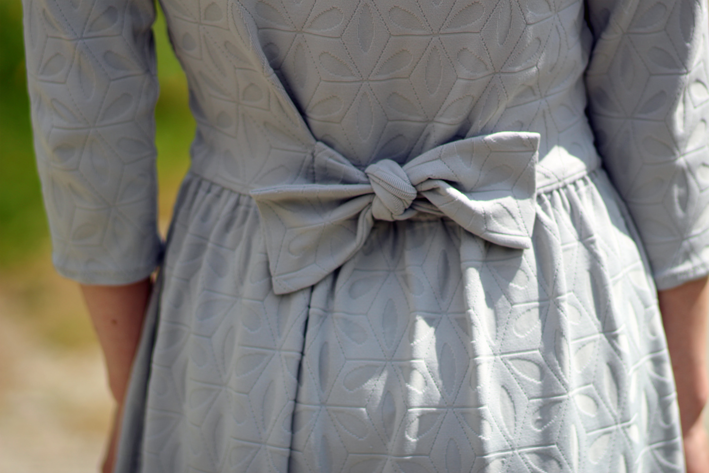 Robe babydoll noeud