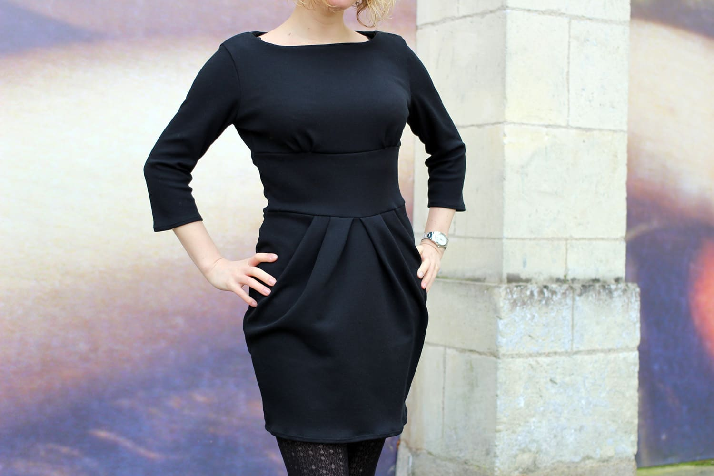 la petite robe noire perle de nacre x lekala - front