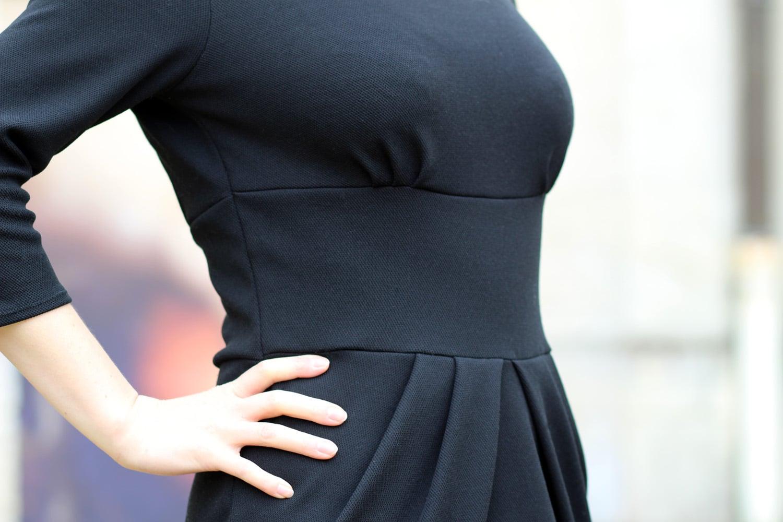la petite robe noire perle de nacre x lekala - zoom