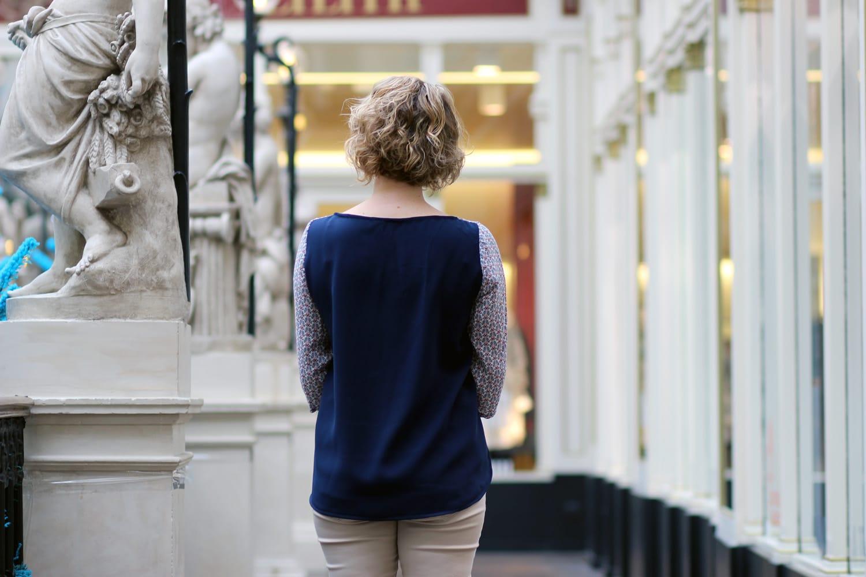 blouse cézembre bicolore-dos