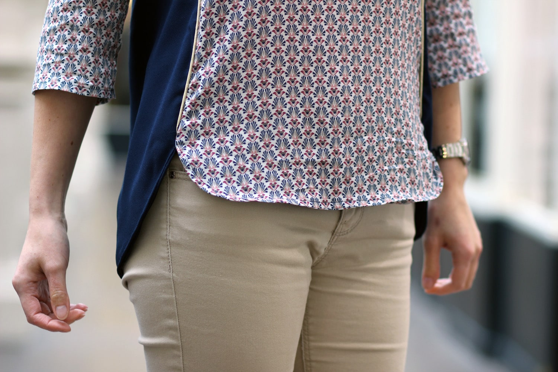 blouse cézembre bicolore -zoom-bas