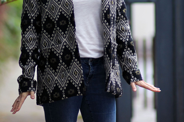 cool blazer - poches appliquées invisibles
