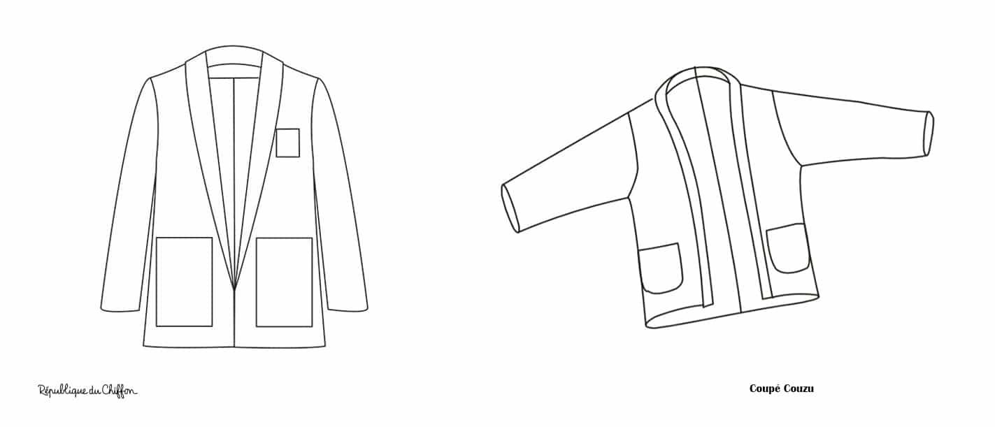 modèles de veste cool blazer et michelle