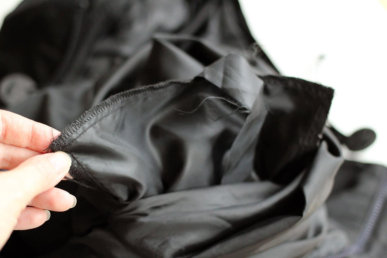 Agrandir une poche, poche existante sur l'envers