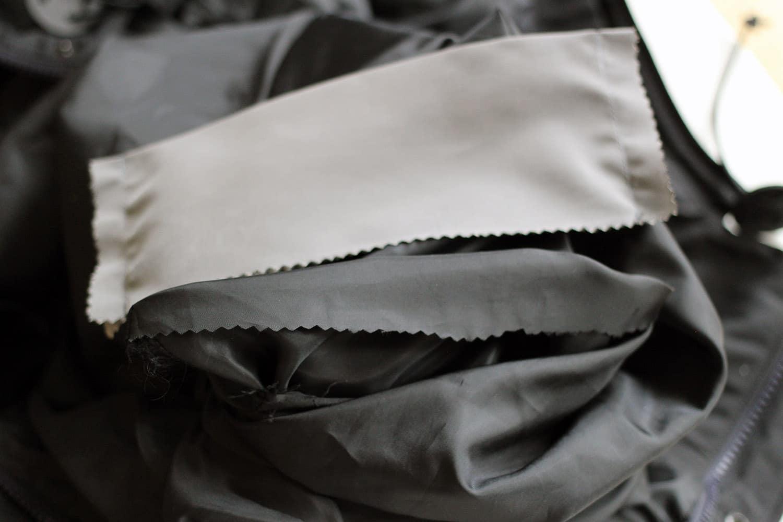 Agrandir une poche, assemblage sur poche existante.