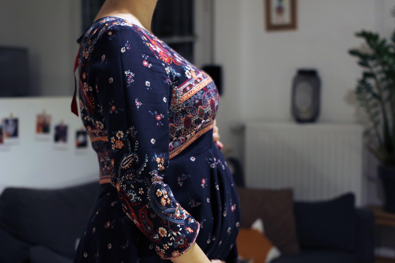 robe minuit - deuxième arrondissement - détail