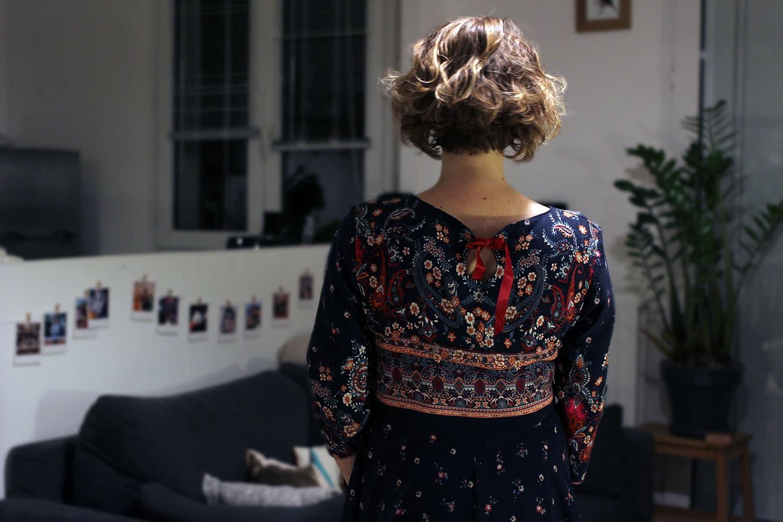 robe minuit - deuxième arrondissement - dos