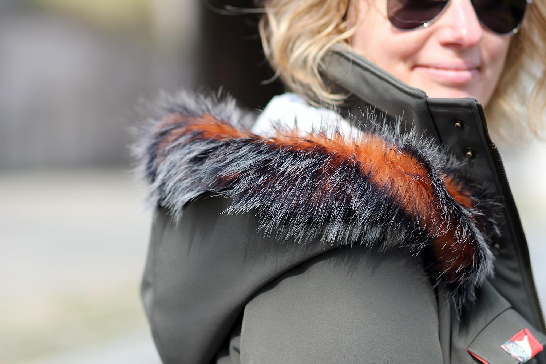 tosti utility jacket - détail capuche