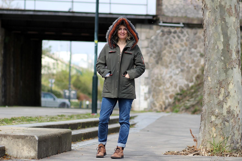 tosti utility jacket - capuche