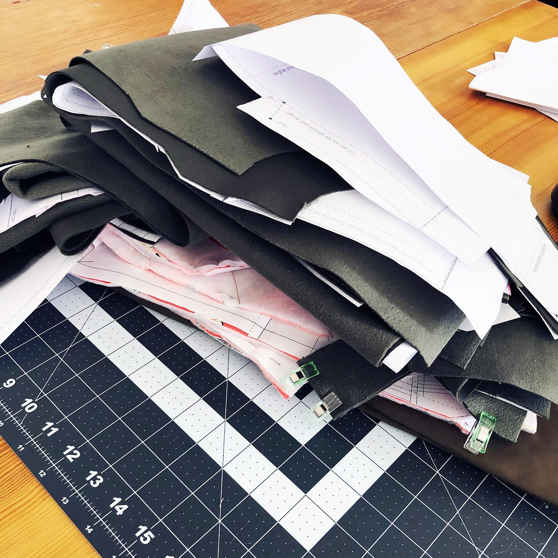 tosti utility jacket - morceaux découpés