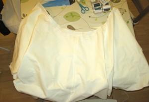 image Aperçu de la jupe prête à être froncée
